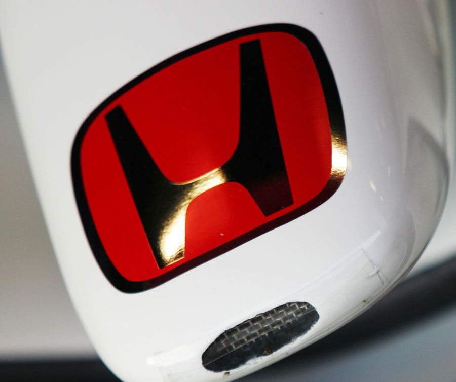 The nose of the Honda RA108