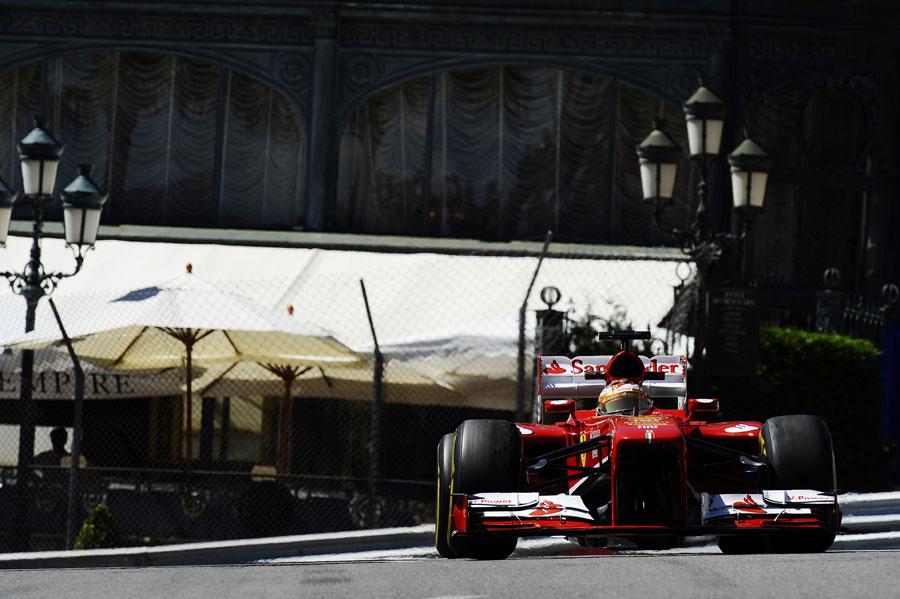 Fernando Alonso exits Casino Square