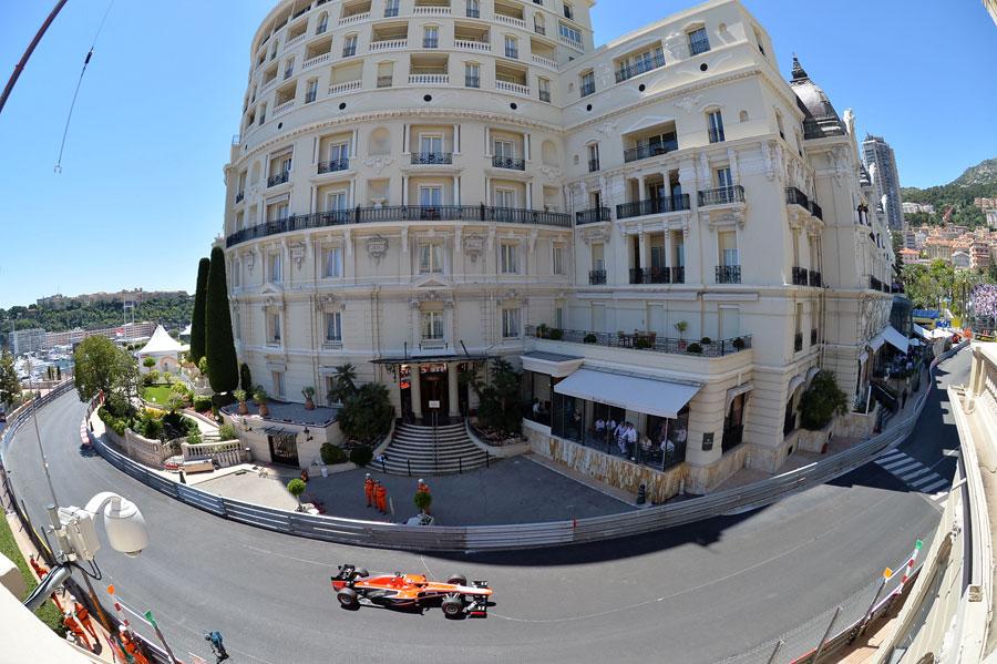 Jules Bianchi exits Massenet