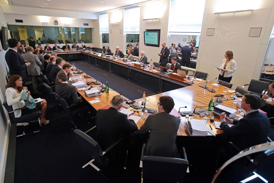 The International Tribunal convenes at the FIA's headquarters