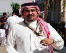 The Crown Prince of Bharain Shaikh Salman