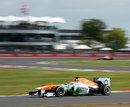 Paul di Resta tackles Luffield
