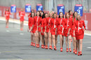 Grid girls at Silverstone