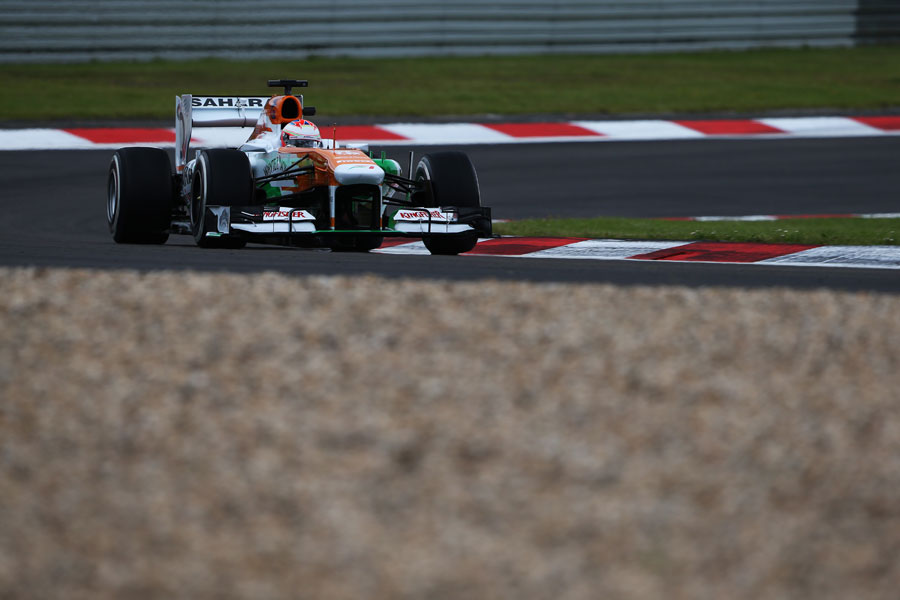 Paul di Resta on track in the Force India