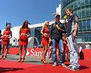 Nico Rosberg and Sebastian Vettel speak on German TV