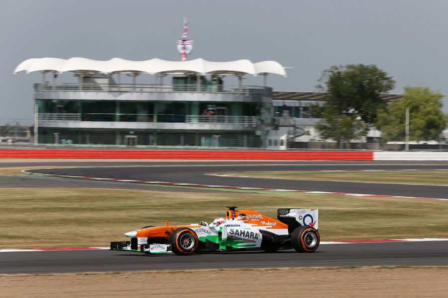 Paul di Resta on track for Force India