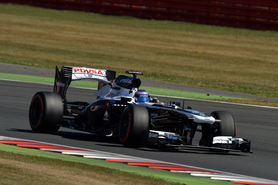 Susie Wolff aims for an apex in the Williams