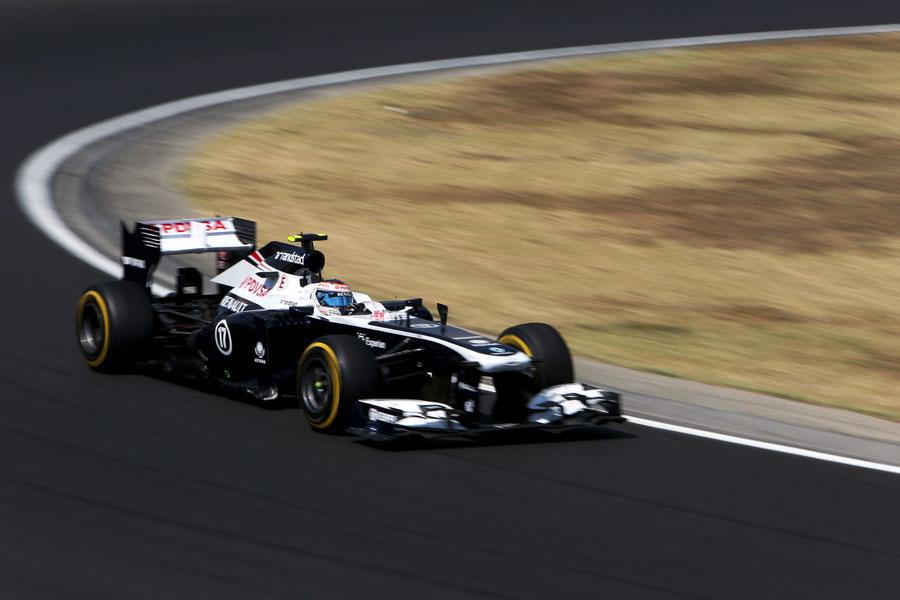 Valtteri Bottas in the Williams