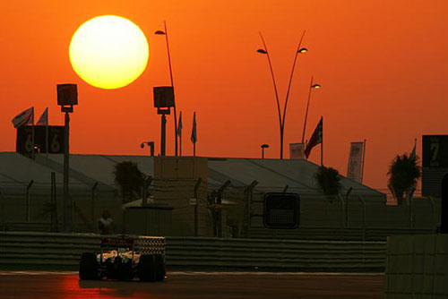 The sun sets on another season of Formula One