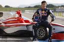 Mark Webber test drives the new GP3 Series car