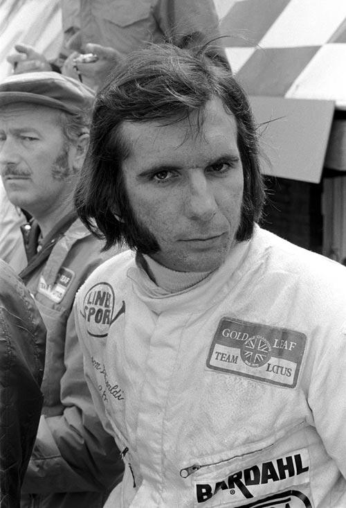 Emerson Fittipaldi at the 1971 British Grand Prix