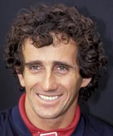 Alain Prost in 1987
