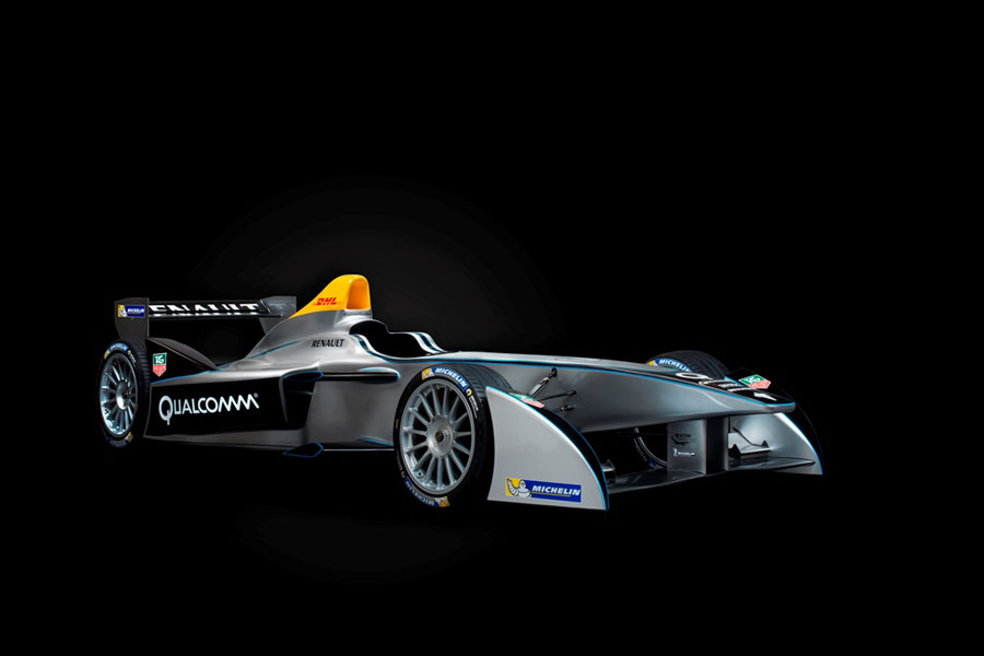 The new Formula E car is unveiled