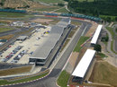 The Wing - Silverstone's new pit building facility - as it is officially opened