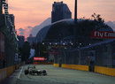 Nico Rosberg approaches Turn 18