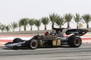 Emerson Fittipaldi drives his 1972 Lotus 72D