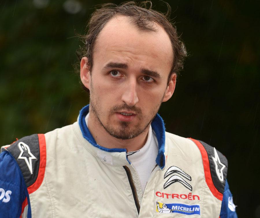 Robert Kubica at DAC Rally Germany