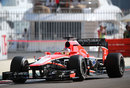 Jules Bianchi on track for Marussia