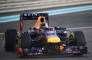 Sebastian Vettel aims for an apex