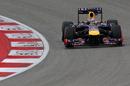 Sebastian Vettel in qualifying