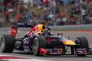 Sebastian Vettel waves to the crowd