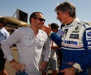 Jacques Villeneuve chats to Damon Hill