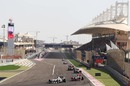 A view of the Bahrain circuit