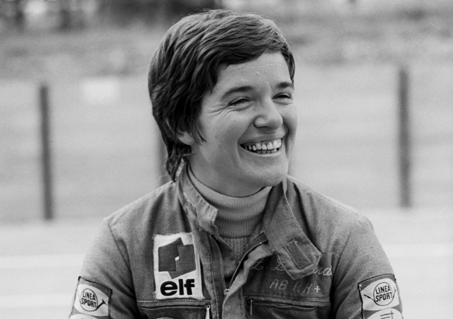 Lella Lombardi at the 1975 South African Grand Prix