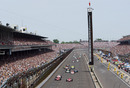 A general view of the Indianapolis 500