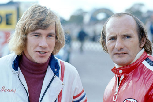 James Hunt and Mike Hailwood
