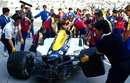 A massive crash in practice ruled Mansell out of the Japanese Grand Prix