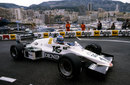 Keke Rosberg negotiates the Rascasse on slicks