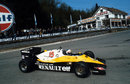 Alain Prost rounds La Source