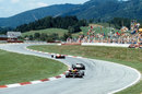 John Watson leads Jacques Laffite at the picturesque Osterreichring
