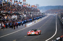 The Ferrari of Arturo Merzario and Carlos Pace at Le Mans