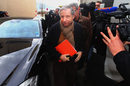 FIA president Jean Todt arrives to visit Michael Schumacher in hospital