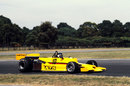 The ATS HS1 with Jean-Pierre Jarier at the wheel