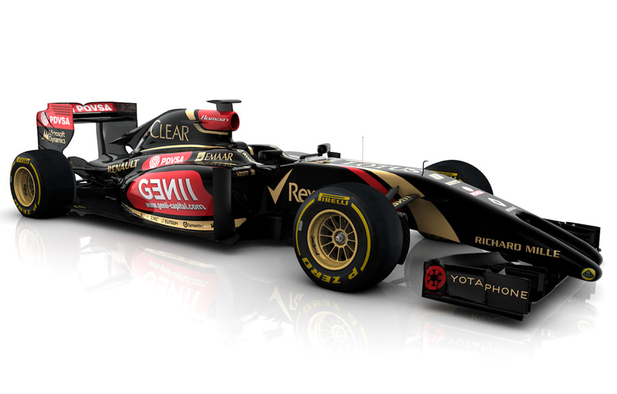 The first image of the new Lotus E22