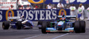 Michael Schumacher tangled with Damon Hill to win the 1994 title