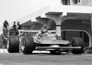 Gilles Villeneuve on his way to victory at Long Beach