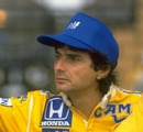 Nelson Piquet before the 1988 Brazilian Grand Prix