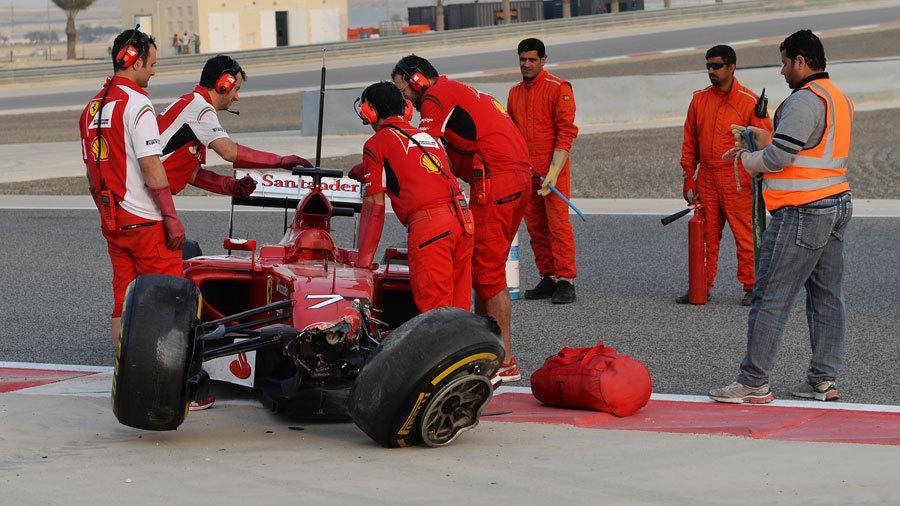 ... Raikkonen crashes | Formula 1 | Formula 1 news, live F1 | ESPN.co.uk