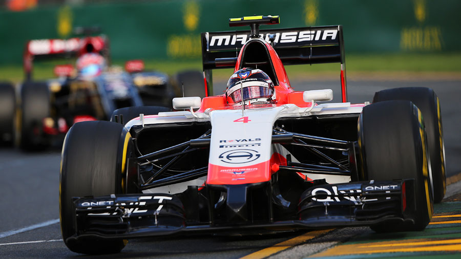Max Chilton on the way to his 20th consecutive finish