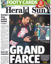 The <I>Herald Sun</I> on Daniel Ricciardo's disqualification