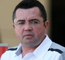 Eric Boullier in the paddock
