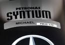 Detail on Michael Schumacher's car