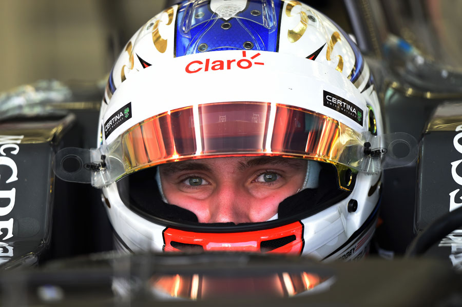 Sergey Sirotkin in the cockpit of the Sauber