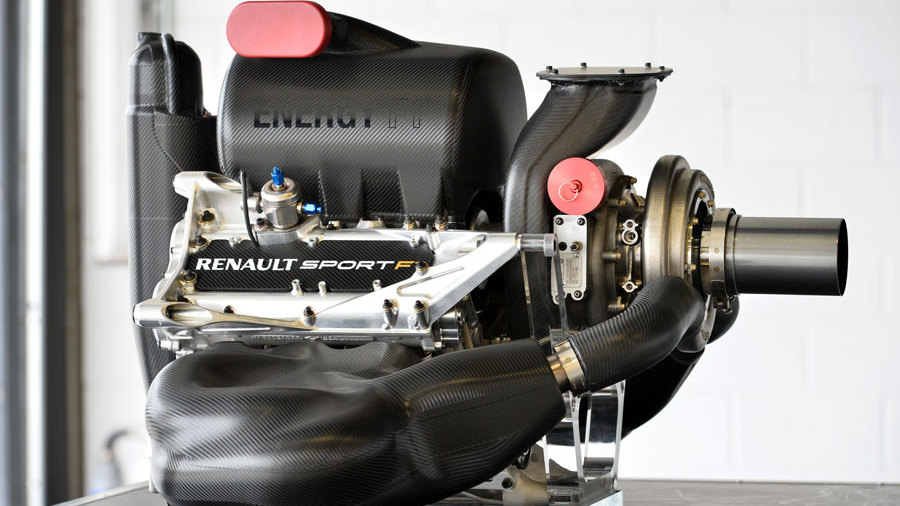 Renault f1 engine