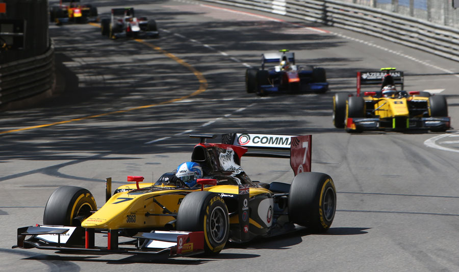 Jolyon Palmer turns into Ste Devote in the GP