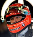 Michael Schumacher prepares to head out again